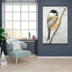 Magnetic 28 x 42 - Small coal tit