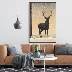 Magnetic 28 x 42 - Roe deer in winter