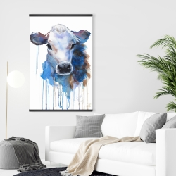 Magnetic 28 x 42 - Watercolor jersey cow