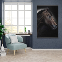 Magnetic 28 x 42 - Loneliness horse
