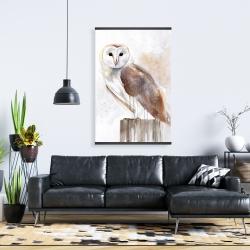 Magnetic 28 x 42 - Barn owl