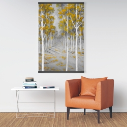 Magnetic 28 x 42 - Birch forest