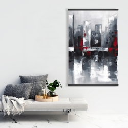 Magnetic 28 x 42 - Abstract cityscape