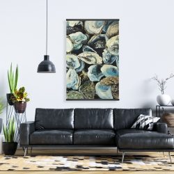 Magnetic 28 x 42 - Oyster shells