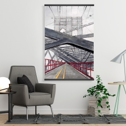 Magnetic 28 x 42 - Under the brooklyn bridge