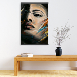 Magnetic 20 x 30 - Abstract woman portrait