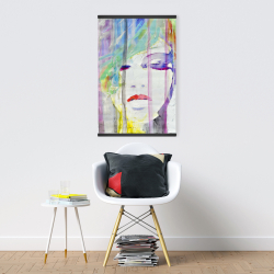 Magnetic 20 x 30 - Abstract colorful portrait