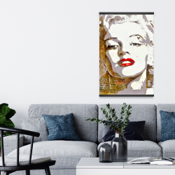 Magnetic 20 x 30 - Marilyn monroe with typography