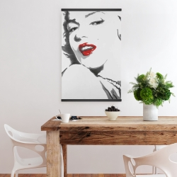 Magnetic 20 x 30 - Marilyn monroe outline style