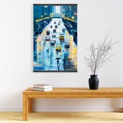 Magnetic 20 x 30 - Rainy streets of new york