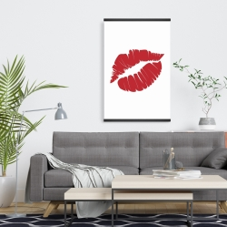 Magnetic 20 x 30 - Red lipstick mark