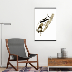 Magnetic 20 x 30 - Illustration of a golf glove