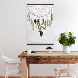 Magnetic 20 x 30 - Dreamcatcher with feathers
