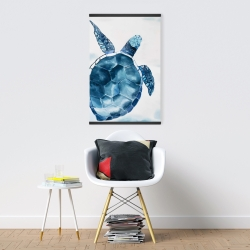 Magnetic 20 x 30 - Blue turtle