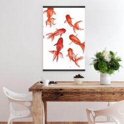 Magnetic 20 x 30 - Red fishes