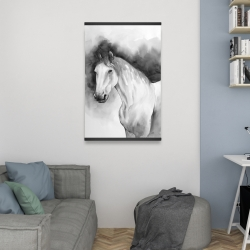 Magnetic 20 x 30 - Domino horse