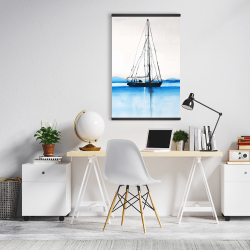 Magnetic 20 x 30 - Sailboat on a calm water