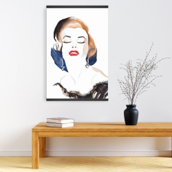 Magnetic 20 x 30 - Vintage chic maryline monroe
