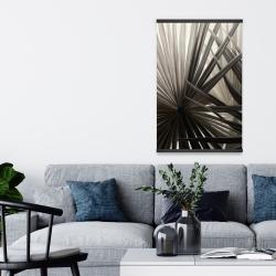 Magnétique 20 x 30 - Plantes tropicales en tons de gris