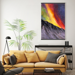 Magnetic 20 x 30 - Aurora borealis in the mountain