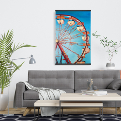 Magnetic 20 x 30 - Ferris wheel by a beautiful day