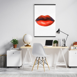 Magnetic 20 x 30 - Red lipstick