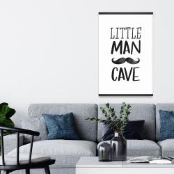 Magnetic 20 x 30 - Little man cave