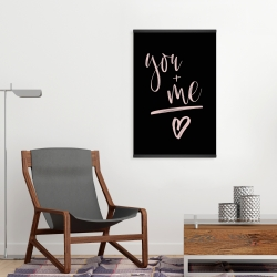 Magnetic 20 x 30 - You + me