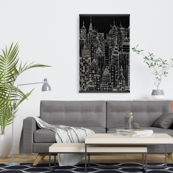 Magnetic 20 x 30 - Illustrative city towers