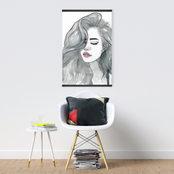 Magnetic 20 x 30 - Beautiful female hair