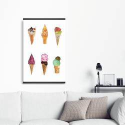 Magnetic 20 x 30 - Ice cream cones