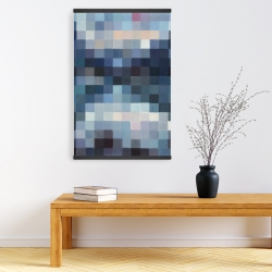 Magnetic 20 x 30 - Pixelated mountainous landscape
