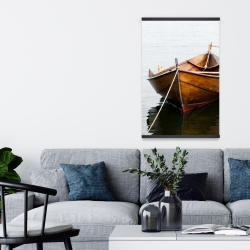 Magnetic 20 x 30 - Rowboat on calm water