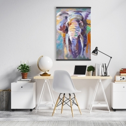 Magnetic 20 x 30 - Elephant in pastel color