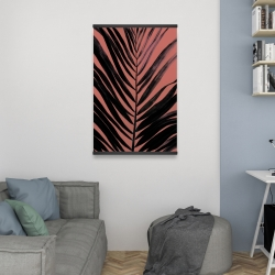 Magnetic 20 x 30 - Coral tropical palm leave