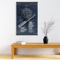 Magnetic 20 x 30 - Blueprint of a fishing reel