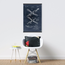 Magnetic 20 x 30 - Blueprint of a fish lure