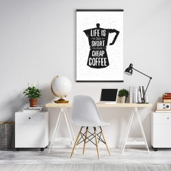 Magnetic 20 x 30 - Life and coffee