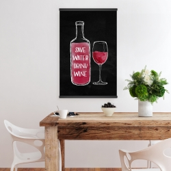 Magnetic 20 x 30 - Save water drink wine
