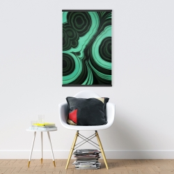 Magnetic 20 x 30 - Malachite stone