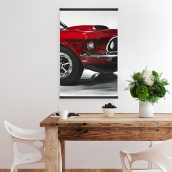 Magnetic 20 x 30 - Classic red car
