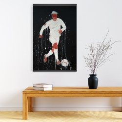 Magnetic 20 x 30 - Soccer player