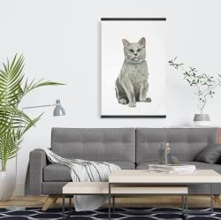 Magnetic 20 x 30 - British shorthair cat