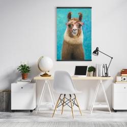 Magnetic 20 x 30 - Lovable llama