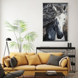 Magnetic 20 x 30 - Front wild horse