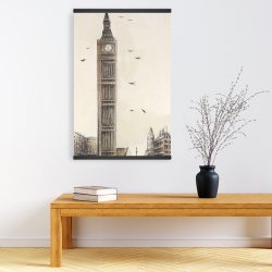 Magnetic 20 x 30 - Big ben in london