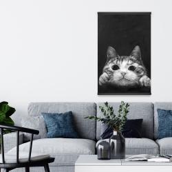 Magnetic 20 x 30 - Curious cat