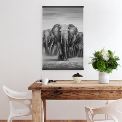 Magnetic 20 x 30 - Herd of elephants