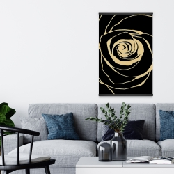 Magnetic 20 x 30 - Black rose