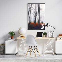 Magnetic 20 x 30 - Mysterious forest with stream